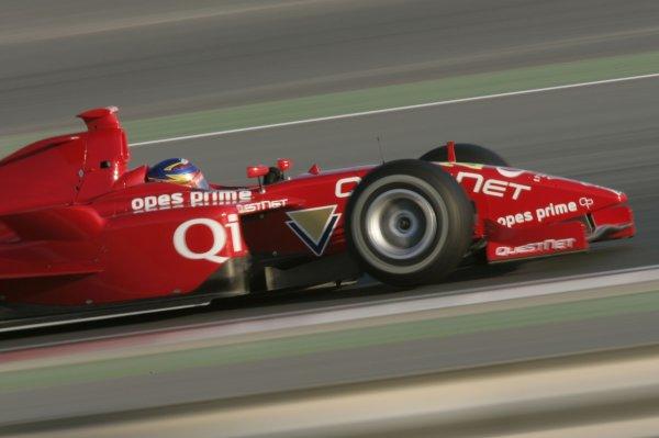 2008 GP2 Asia Series. Testing.Dubai. Dubai Autodrome. 20th January.Hiroki Yoshimoto (JPN, Meritus). Action. World Copyright: Alastair Staley/GP2 Series Media Serviceref: _MG_2188