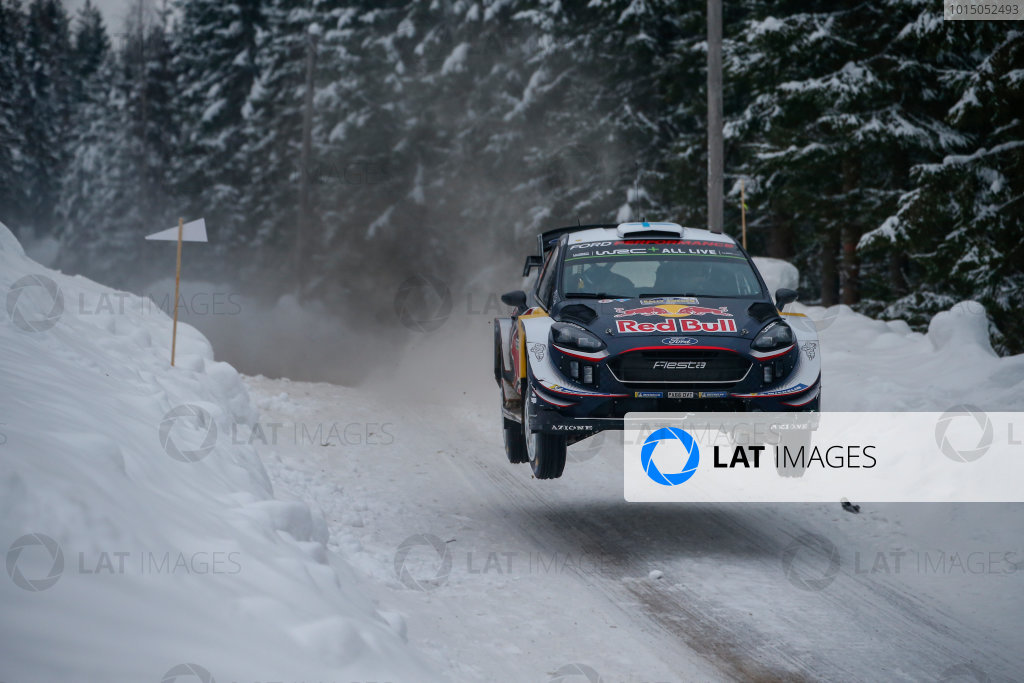 2018 FIA World Rally Championship, Round 02, Rally Sweden 2018, February 15-18, 2018. Teemu Suninen, Ford, Action Worldwide Copyright: McKlein/LAT