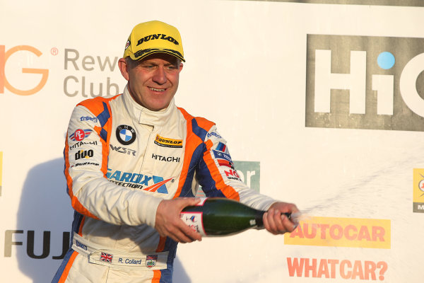 2015 British Touring Car Championship, Silverstone, Northants. 26th-27th September 2015, Rob Collard (GBR) WSR BMW 125i M Sport World copyright. Jakob Ebrey/LAT Photographic