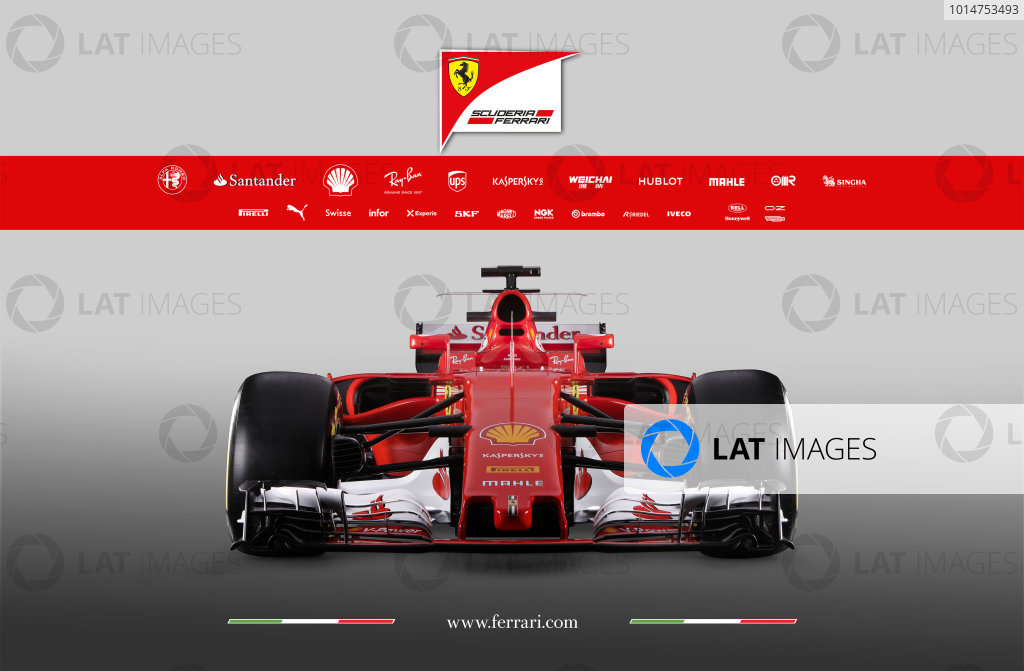 Ferrari SF70H Launch Images. Maranello, Italy. Friday, 24 February, 2017. Photo: Copyright Free Ferrari. Editorial use only. Ref: 170011_SF70H