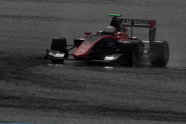 2017 GP3 Series Testing Estoril, Portugal. Wednesday 22 March 2017 Anthoine Hubert (FRA, ART Grand Prix). Action.  Photo: Alastair Staley/GP3 Series Media Service ref: Digital Image 585A1361