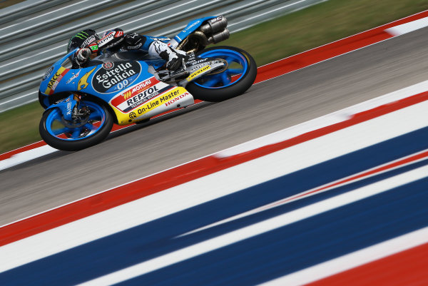 2017 Moto3 Championship - Round 3 Circuit of the Americas, Austin, Texas, USA Friday 21 April 2017 Enea Bastianini, Estrella Galicia 0,0 World Copyright: Gold and Goose Photography/LAT Images ref: Digital Image Moto3-500-1508