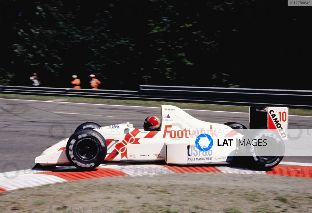 1990 Belgian Grand Prix.Spa-Francorchamps, Belgium.28-30 September 1990.Alex Caffi (Arrows A11B Ford) 10th position.Ref-90 BEL 16.World Copyright - LAT Photographic