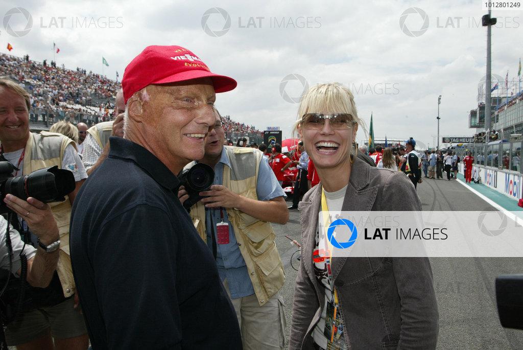 2003 French Grand Prix - Sunday Race,