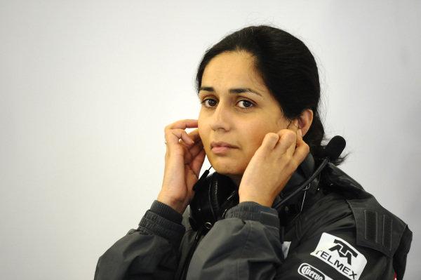 Monisha Kaltenborn (AUT) Sauber Managing Director. Formula One World Championship, Rd9, British Grand Prix, Practice, Silverstone, England, Friday 6 July 2012.