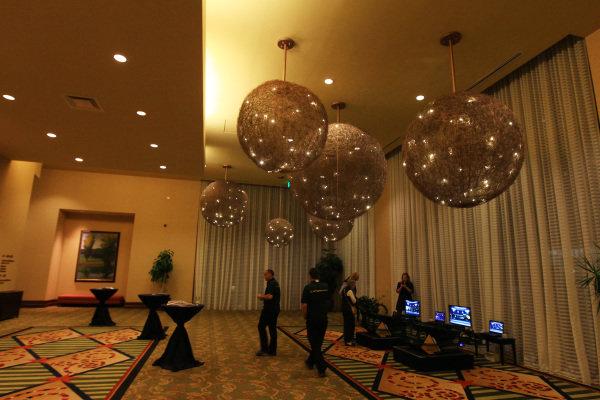 Reception. FOTA Fans Forum, Hilton Hotel, Austin, Texas, USA, 14 November 2012.