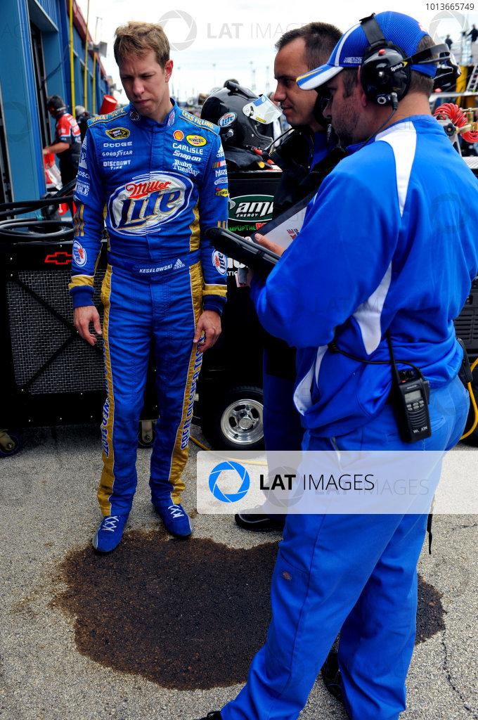 16-18 September, 2011, Joliet, Illinois USAPaul Wolfe and Brad Keselowski(c)2011, LAT SouthLAT Photo USA