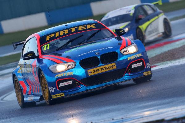 British Touring Car Championship, Donington Park, 15th-16 April 2017, Andrew Jordan (GBR) BMW Pirtek Racing BMW 125i M Sport World Copyright. JEP/LAT Images