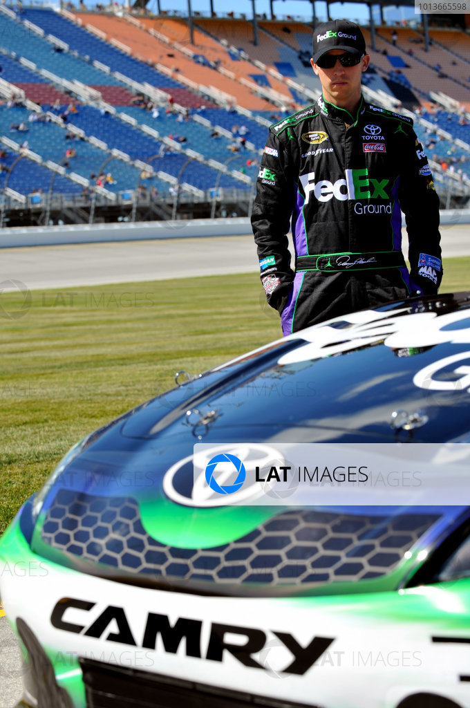 16-18 September, 2011, Joliet, Illinois USADenny Hamlin, FedEx Ground Toyota Camry(c)2011, LAT SouthLAT Photo USA