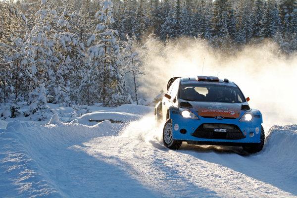 Round 02 - Rally Sweden 09-12 February 2012. Eyvind Brynildsen, Ford WRC, Action.  Worldwide Copyright: McKlein/LAT
