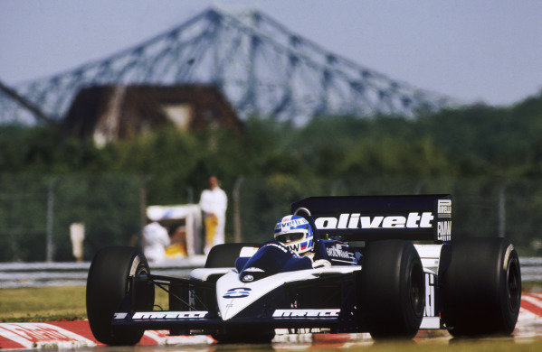 Montreal, Quebec, Canada. 13-15 June 1986.Derek Warwick (Brabham BT55-BMW), retired, action. World Copyright: LAT Photographic.Ref:  86CAN