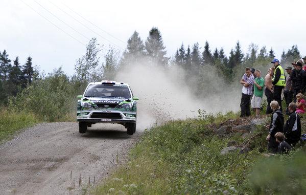 Round 08Rally Finland 29-31 July 2010Matthew Wilson, Ford WRC, ActionWorldwide Copyright: McKlein/LAT
