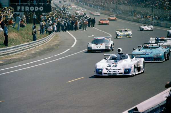 1978 Le Mans 24 HoursLe Mans, France. 10th - 11th June.Tom Walkinshaw/Dieter Quester/Rad Dougall (Osella PA6-BMW).World Copyright: Murenbeeld/LAT Photographicref: 35mm Transparency Image