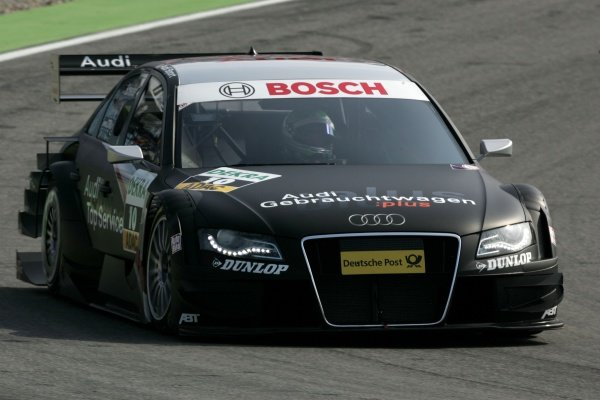Timo Scheider (GER) Audi Sport Team Abt  DTM, Rd 1, Hockenheim, Germany, 12-13 April 2008.