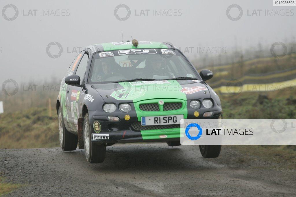 2006 British Rally Championship.Wales Rally GB. 1st-3rd December 2006.Steve GrahamWorld Copyright: Ebrey/LAT Photographic.
