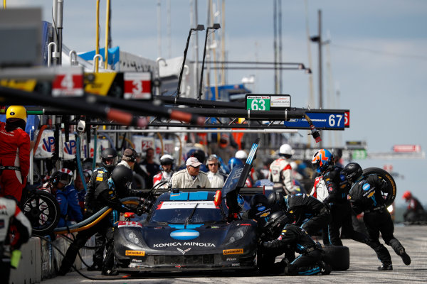 5-7 August, 2016, Elkhart Lake, Wisconsin USA , 10, Chevrolet, Corvette DP, P, Ricky Taylor, Jordan Taylor, pit stop ?2016, Michael L. Levitt LAT Photo USA