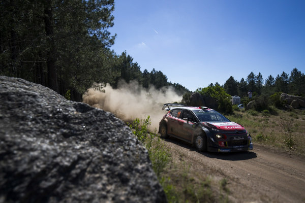 Craig Breen suffered many problems throughout Rally d'Italia Sardinia