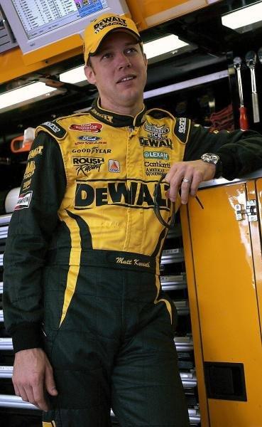 Champion elect Matt Kenseth (USA) DeWalt Power Tools Ford.NASCAR Winston Cup Series, Rd 35, Pop-Secret Microwave Popcorn 400, Rockingham, North Carolina Speedway, USA, 8 November 2003.DIGITAL IMAGE