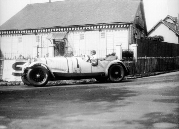 Le Mans, France. 13-14 June 1931.Boris Ivanowski/Henri Stoffel (Mercedes-Benz SSK), 2nd position.World - LAT Photographic