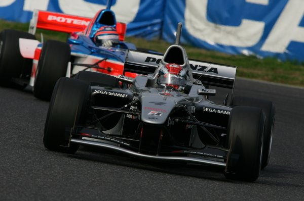 2007 Formula Nippon ChampionshipSuzuka Circuit, Japan17th - 18th November 2007Joao Paulo do Oliveira (Carchs Kondo Racing). 3rd position. Action.World Copyright: Yasushi Ishihara/LAT Photographicref: Digital Image 2007FN_R9_009