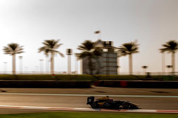 2016 GP3 Series Test 5. Yas Marina Circuit, Abu Dhabi, United Arab Emirates. Thursday 1 December 2016. Tarun Reddy (IND, DAMS)  Photo: Zak Mauger/GP3 Series Media Service. ref: Digital Image _X0W2961