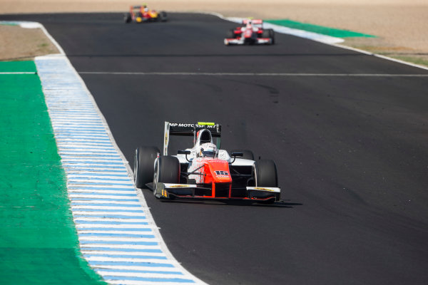 2017 FIA Formula 2 Round 10. Circuito de Jerez, Jerez, Spain. Saturday 7 October 2017. Jordan King (GBR, MP Motorsport).  Photo: Andrew Ferraro/FIA Formula 2. ref: Digital Image _FER1922