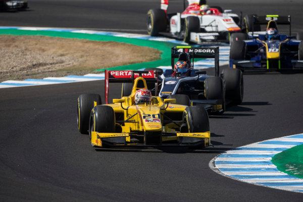 2017 FIA Formula 2 Round 10. Circuito de Jerez, Jerez, Spain. Saturday 7 October 2017. Norman Nato (FRA, Pertamina Arden).  Photo: Andrew Ferraro/FIA Formula 2. ref: Digital Image _FER1649