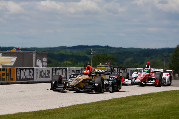 Verizon IndyCar Series Kohler Grand Prix Road America, Elkhart Lake, WI USA Sunday 25 June 2017 James Hinchcliffe, Schmidt Peterson Motorsports Honda World Copyright: Phillip Abbott LAT Images ref: Digital Image abbott_elkhart_0617_8082