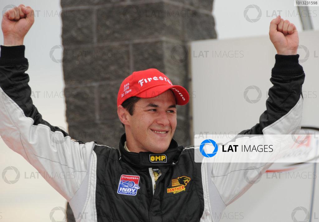 2008 Indy Lights Iowa
