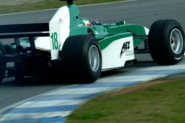 2004 F3000 Testing.Jerez, Spain. 17-18th February 2004.xxWolrd Copyright: Spinney/LAT Photographic.Ref.: Digital Image Only.