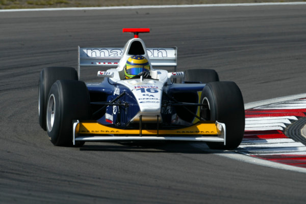 2004 Formula 3000 Championship (F3000) Nurburgring, Germany.29th May 2004. Tomas Enge (Ma-Con Engineering). Actton.World Copyright: LAT Photographic ref: Digital Image Only