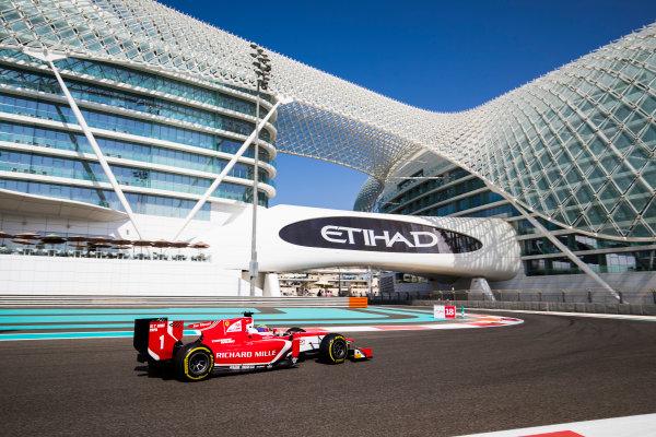 2017 FIA Formula 2 Round 11. Yas Marina Circuit, Abu Dhabi, United Arab Emirates. Friday 24 November 2017. Charles Leclerc (MCO, PREMA Racing).  Photo: Sam Bloxham/FIA Formula 2. ref: Digital Image _J6I1302