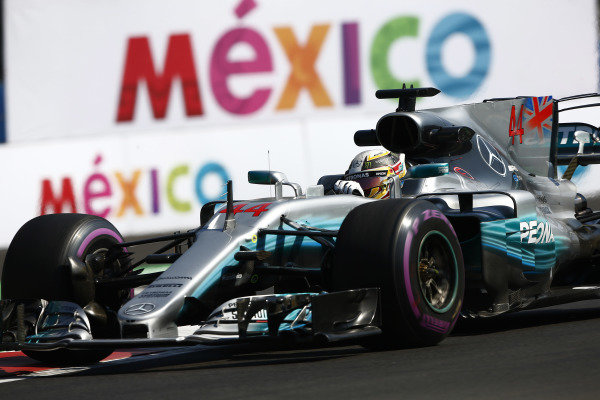 Circuit of the Americas, Austin, Texas, United States of America. Friday 27 October 2017. Lewis Hamilton, Mercedes F1 W08 EQ Power+.  World Copyright: Andy Hone/LAT Images  ref: Digital Image _ONZ0594