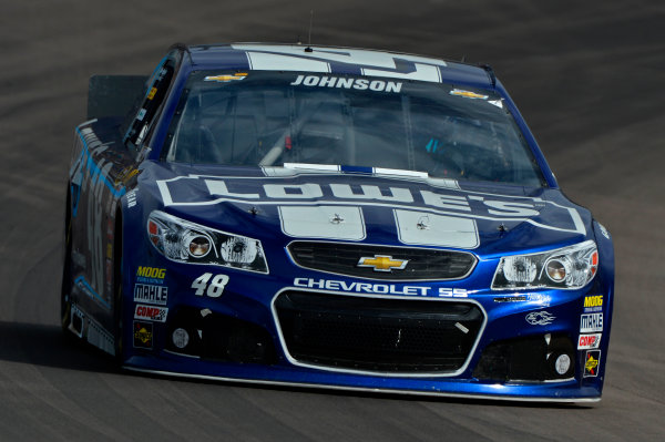 March 1-3, 2013 Avondale, Arizona USA Jimmie Johnson car.(c) 2013, Brian Czobat LAT Photo USA .
