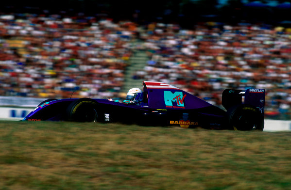1994 German Grand Prix.Hockenheim, Germany.29-31 July 1994.David Brabham (Simtek S941 Ford). He exited the race with a clutch problem.Ref-94 GER 37.World Copyright - LAT Photographic