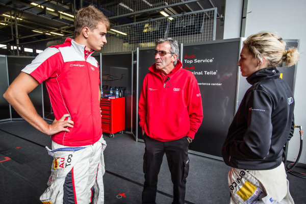 Nico Müller and Rahel Frey