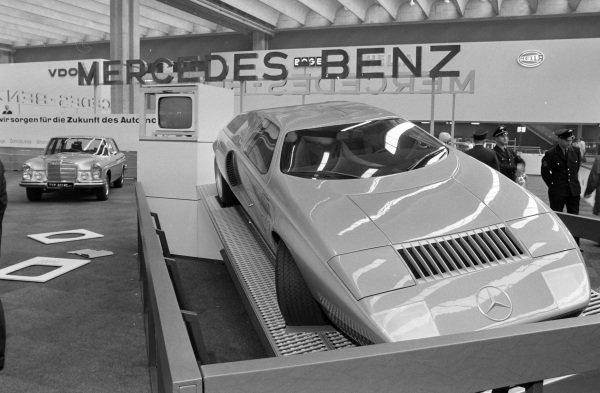 Mercedes Benz C111 experimental vehicle.