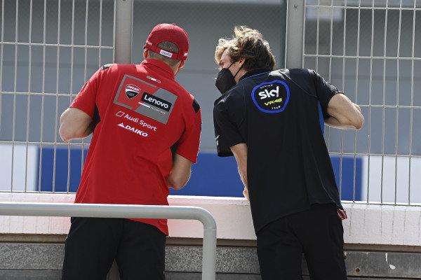Jack Miller, Ducati Team, Luca Marini, Esponsorama Racing.