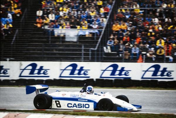 Jonathan Palmer, Ralt RH6/83H Mugen Honda.