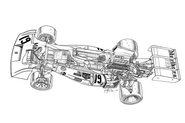 BRM P160 1971 detailed overview