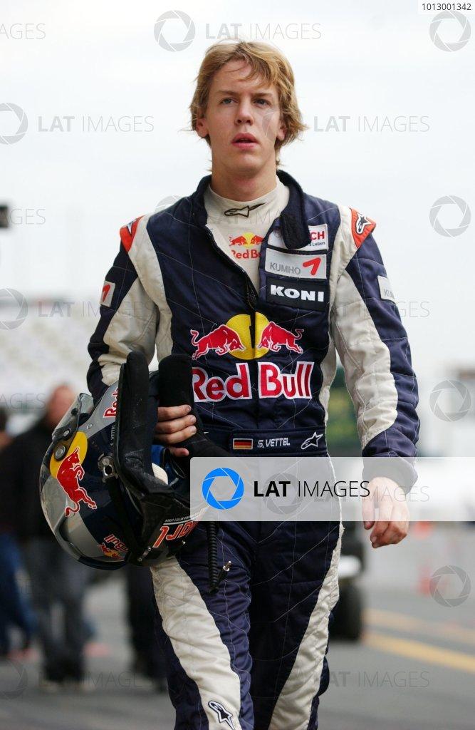 2006 F3 Euro Series.Round 17 & 18, Le Mans Bugatti Circuit. 13th - 15th October 2006.Sebastian Vettel (GER), ASM Formula 3, Dallara F305 MercedesWorld Copyright: Pieters/xpb cc/LATref: Digital Image Only