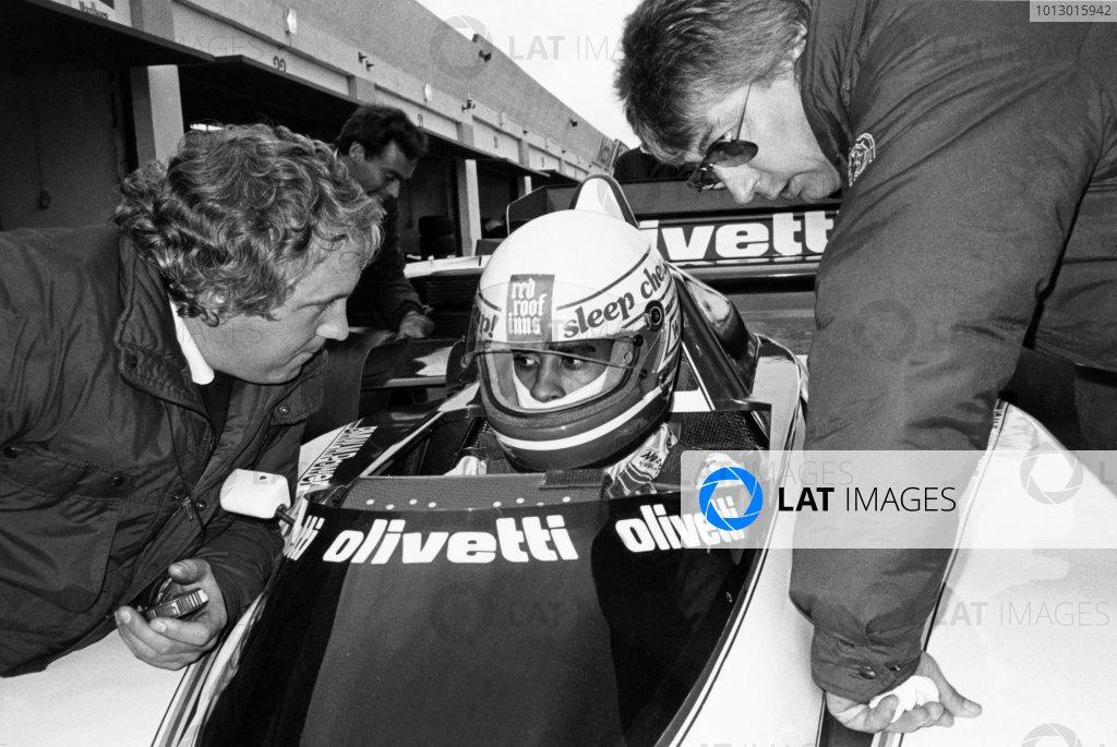1985 Formula One Testing.