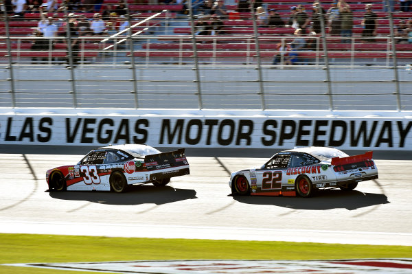 6-7 March 2015, Las Vegas, Nevada USA Austin Dillon and Ryan Blaney ? 2015, Nigel Kinrade LAT Photo USA