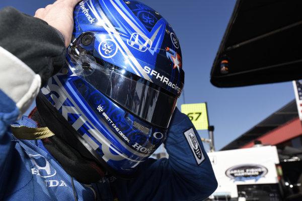 Josef Newgarden (USA) Fisher Hartman Racing.Verizon IndyCar Series, Rd18, MAVTV 500, Auto Club Speedway, Fontana, USA, 29-30 August 2014.