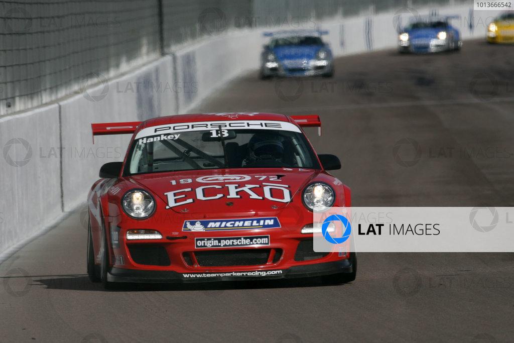 Rockingham, 17th-18th September 2011Euan Hankey (GBR) Team Parker Racing Porsche Carrera CupWorld Copyright: Jakob Ebrey/LAT Photography