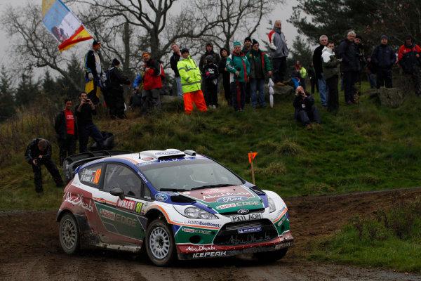 Round 13 - Wales Rally GB. 10th-13th November 2011. Evgeny Novikov, Ford, ActionWorldwide Copyright: McKlein/LAT