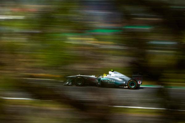 Interlagos, Sao Paulo, Brazil. 25th November 2011. Nico Rosberg, Mercedes GP W02. Action.  World Copyright: Steve Etherington/LAT Photographic ref: Digital Image SNE25870