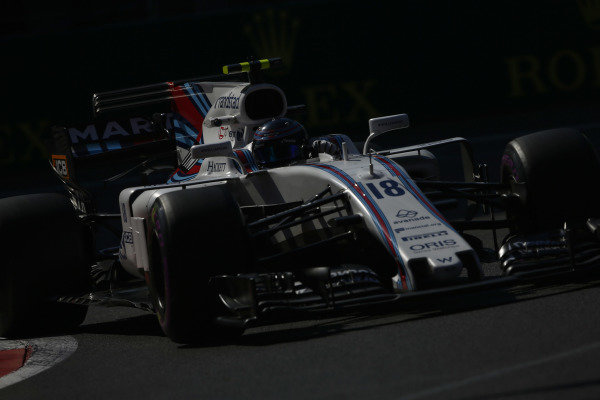 Circuit of the Americas, Austin, Texas, United States of America. Friday 27 October 2017. Lance Stroll, Williams FW40 Mercedes.  World Copyright: Andy Hone/LAT Images  ref: Digital Image _ONZ0306
