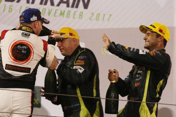 2017 FIA World Endurance Championship, Bahrain International Circuit, Bahrain. 16th-18th November 2017, Matt Griifin (IRL)  World Copyright. JEP/LAT Images