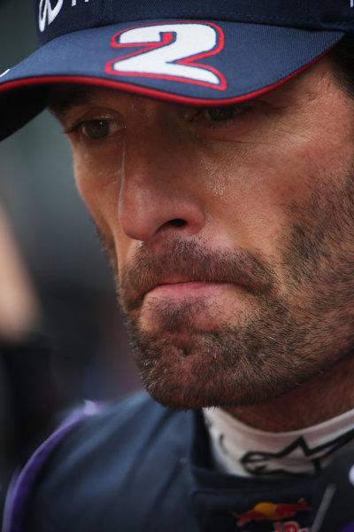 Buddh International Circuit, New Delhi, India. Saturday 26th October 2013. Mark Webber, Red Bull Racing. World Copyright: Andy Hone/LAT Photographic. ref: Digital Image HONZ3519